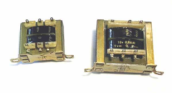 Reconocer y entender los componentes pasivos pcpfiles en for Transformadores de corriente 220v a 12v