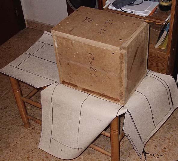 Como forrar una caja con tela imagui - Como forrar una caja con tela ...